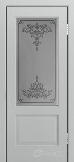 Двери ЛайнДор Кантри К тон 46 стекло Лира светлое