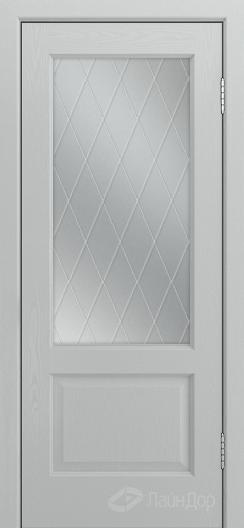 Двери ЛайнДор Кантри К тон 46 стекло Лондон светлое