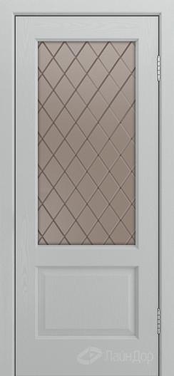 Двери ЛайнДор Кантри К тон 46 стекло Милтон бронза