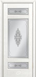 Двери ЛайнДор Мишель К тон 38 стекло Виви сатин