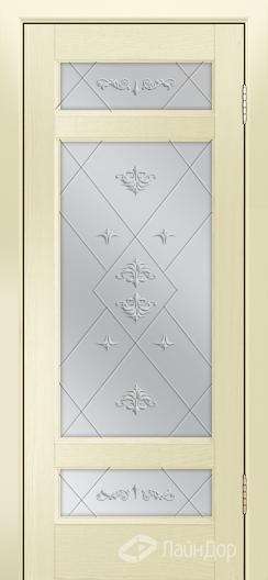 Двери ЛайнДор Мишель К тон 42 стекло Прима