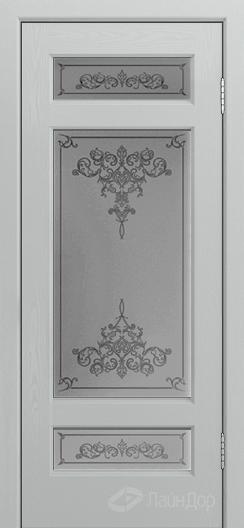 Двери ЛайнДор Мишель К тон 46 стекло Лира светлое