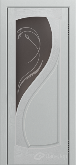 Двери ЛайнДор Новый стиль тон 46 стекло Новый стиль бронза