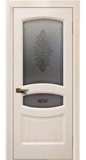 Двери ЛайнДор Алина 2 жемчуг 27 стекло Алина 2