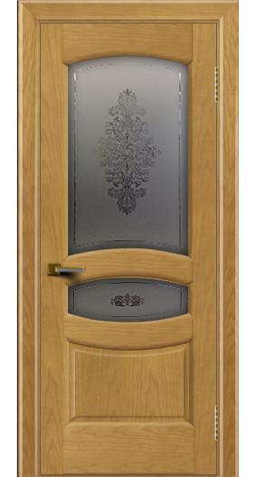 Дверь ЛайнДор Алина 2 ясень 24 стекло Алина 2