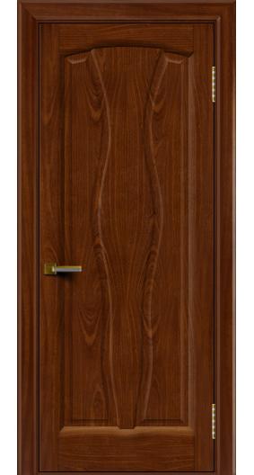 Дверь ЛайнДор Анжелика 2 красное дерево 10 глухая