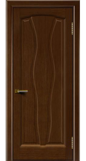 Дверь ЛайнДор Анжелика 2 орех 2 глухая
