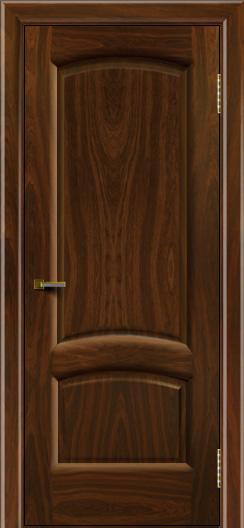 Двери ЛайнДор Анталия 2 американский орех тон 25 глухая