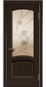 Дверь ЛайнДор Анталия 2 венге 12 стекло Астра
