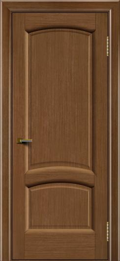 Двери ЛайнДор Анталия 2 дуб тон 5 глухая
