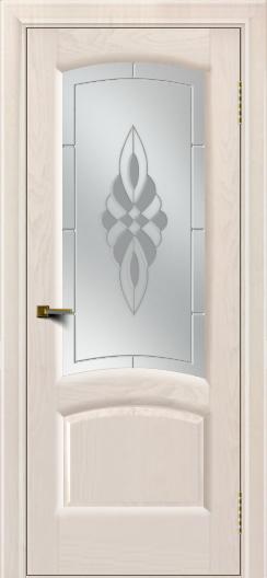 Двери ЛайнДор Анталия 2 жемчуг тон 27 стекло Византия