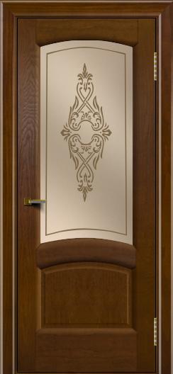 Двери ЛайнДор Анталия 2 тон 30 стекло Айрис бронза