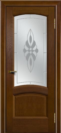 Двери ЛайнДор Анталия 2 тон 30 стекло Византия