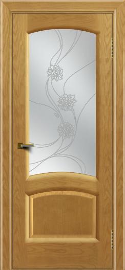 Двери ЛайнДор Анталия 2 ясень тон 24 стекло Астра наливка
