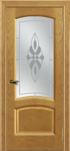 Двери ЛайнДор Анталия 2 ясень тон 24 стекло Византия