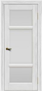 Двери ЛайнДор Афина 2 тон 38 стекло белое полное