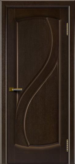 Дверь ЛайнДор Новый стиль венге глухая