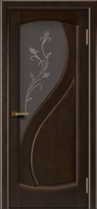Дверь ЛайнДор Новый стиль венге стекло Ирис