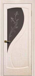 Дверь ЛайнДор Новый стиль жемчуг стекло Ирис