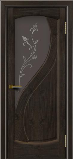 Дверь ЛайнДор Новый стиль тон 31 стекло Ирис