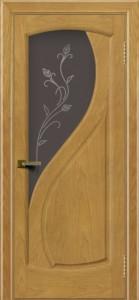 Дверь ЛайнДор Новый стиль ясень 24 стекло Ирис