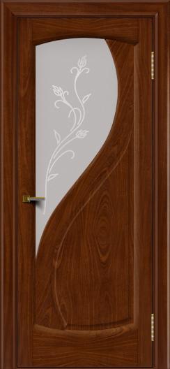 Двери ЛайнДор Новый стиль 2 тон 10 стекло Ирис светлое