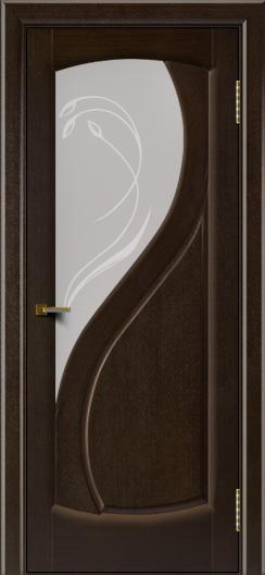 Двери ЛайнДор Новый стиль 2 тон 12 стекло Новый стиль светлое