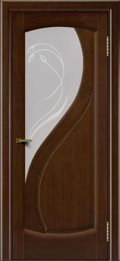 Двери ЛайнДор Новый стиль 2 тон 2 стекло Новый стиль светлое