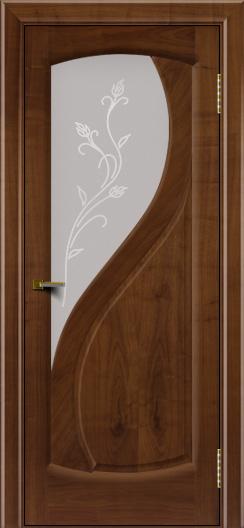 Двери ЛайнДор Новый стиль 2 тон 23 стекло Ирис светлое