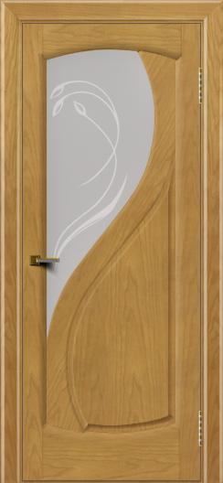 Двери ЛайнДор Новый стиль 2 тон 24 стекло Новый стиль светлое
