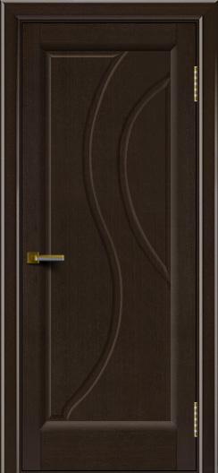 Дверь ЛайнДор Прага Венге 12 глухая