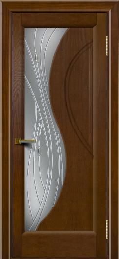 Дверь ЛайнДор Прага 2 Тон 30 Стекло Волна