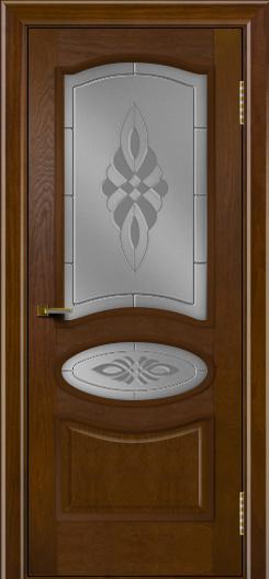 Двери ЛайнДор Оливия тон 30 стекло Византия