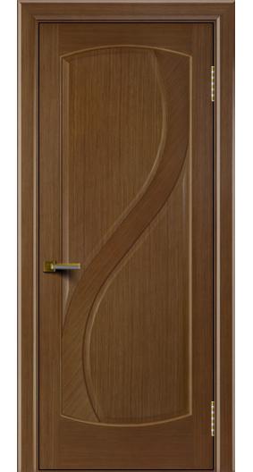 Двери Лайндор модель Новый стиль дуб 5 глухая