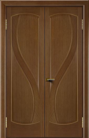 Двери Лайндор модель Новый стиль одуб 5 двойная глухая