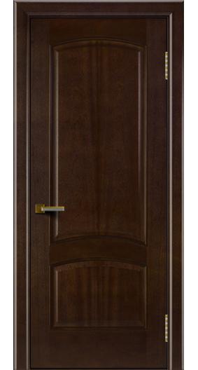 Двери ЛайнДор Анталия красное дерево тон 18 глухая