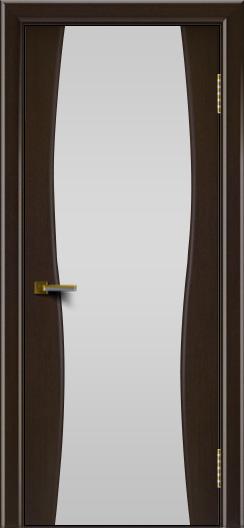Двери ЛайнДор Арабика венге тон 12 стекло Белое