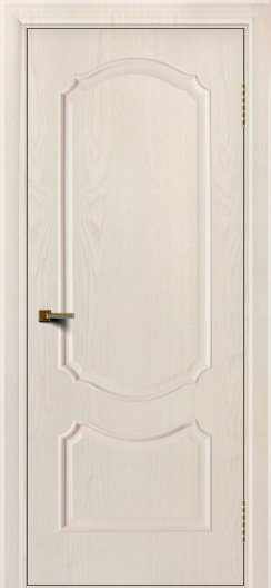 Двери ЛайнДор Богема ясень жемчуг тон 27 глухая