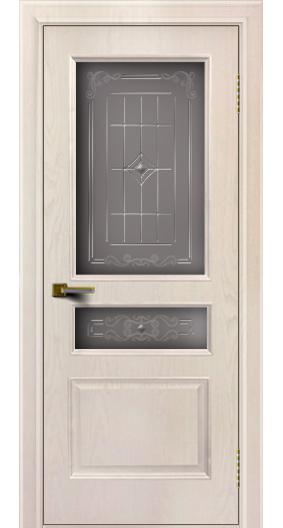 Двери ЛайнДор Калина жемчуг тон 27 стекло Калина
