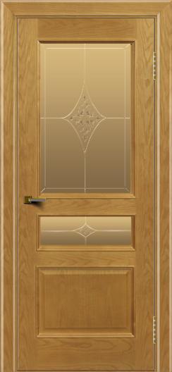 Двери ЛайнДор Калина ясень тон 24 стекло Гелиос