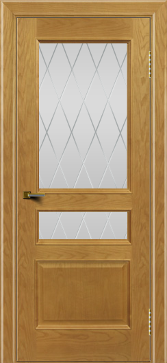 Двери ЛайнДор Калина ясень тон 24 стекло Лондон