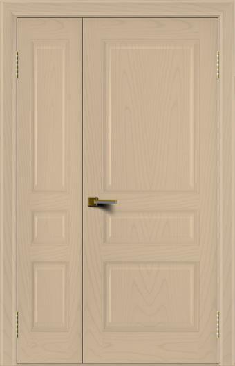 Двери ЛайнДор Калина ясень тон 3 полуторная глухая
