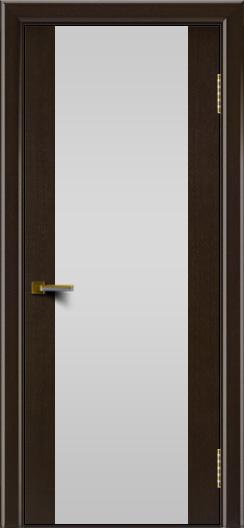 Двери ЛайнДор Камелия К венге тон 12 стекло Белое