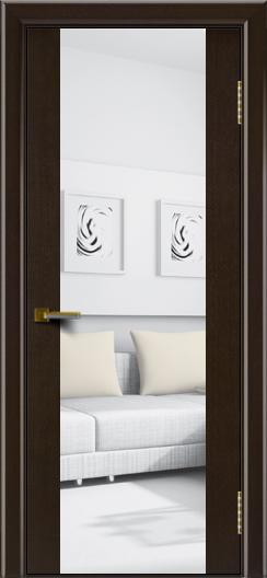 Двери ЛайнДор Камелия К венге тон 12 стекло Зеркало