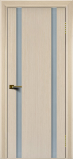 Двери ЛайнДор Камелия К 2 беленый дуб тон 16 стекло Белое