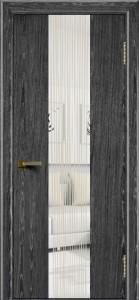 Двери ЛайнДор Камелия К 4 абрикос тон 22 стекло Водопад