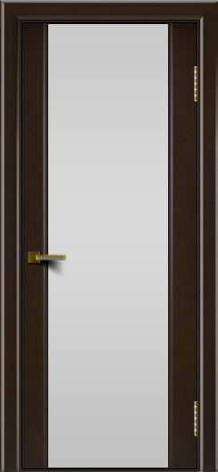 Двери ЛайнДор Камелия венге тон 12 стекло Белое