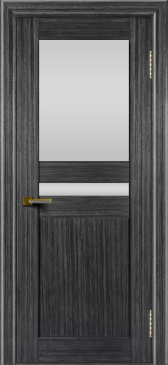 Двери ЛайнДор Кристина абрикос тон 22 стекло Белое верхнее