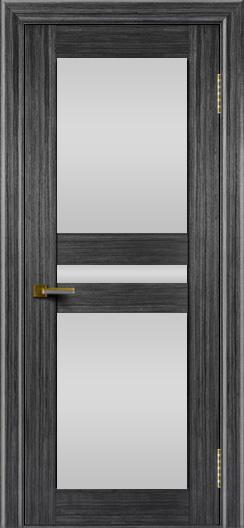 Двери ЛайнДор Кристина абрикос тон 22 стекло Белое полное