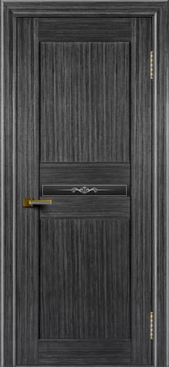Двери ЛайнДор Кристина абрикос тон 22 стекло Кристина малое